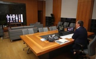 Başkan Arısoy Telekonferans İle STK Başkanları İle Toplantı Yaptı