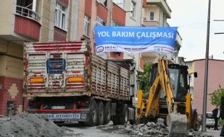 Esenyurt' ta Cadde Ve Sokaklar Yenileniyor
