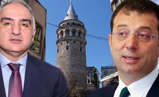 İmamoğlu'ndan Kültür Bakanı'na Galata Kulesi Mektubu