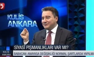 """BABACAN: """"Başkanlık sistemi geldiği günden beri Türkiye kan kaybediyor!"""""""