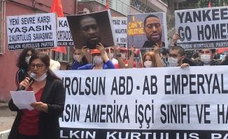 Halkın Kurtuluş Partisi (HKP) ABD 'yi Protesto Etti