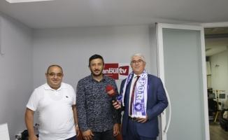 ArapgirSpor Kulübü Başkanı Metin Akyüz İstanbul Times Tv de