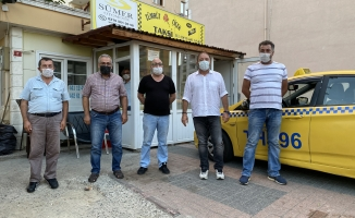 Başkan Ali Kılıç'tan maske ve hijyen denetimi
