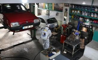 Kartal Belediyesi Dezenfekte Çalışmalarına Devam Ediyor