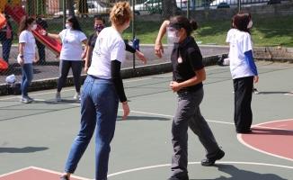 Maltepe'li kadınlara öz savunma eğitimi