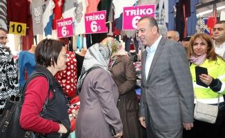 Ataşehir Belediyesi Dolu Riskine Karşı Kapalı Pazarları Otoparka Dönüştürdü
