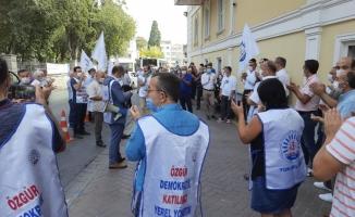Bakırköy Belediyesi Memurlarından Fakslı Eylem