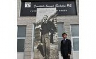 Cumhuriyet Tarihinin İlk Seramik Üreticisinden Atatürk'e Saygı Eseri