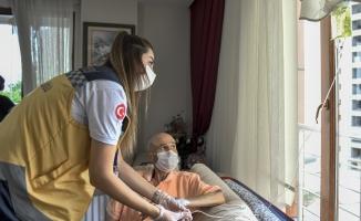 Eylül Ayında 987 Vatandaş Evde Sağlık Hizmetinden Yararlandı