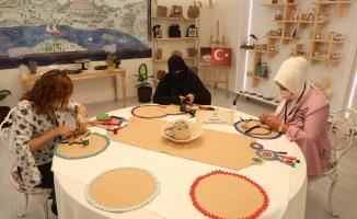 Eyüpsultan'da ESMEK El Emeği Ürünleri Satış Mağazaları Açıldı