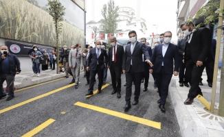 Kağıthane'nin İlk Tematik Caddesi Açıldı
