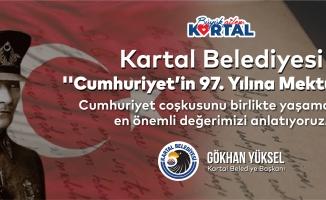 """Kartal Belediyesi'nden """"Cumhuriyet'in 97. Yılına Mektuplar"""" Etkinliği"""
