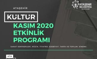 Kasım'da Kültür-Sanat Aşkı Başkadır!