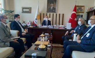 Vatan Partisi Kıdem Tazminatını Düzenleyen Yasa Teklifini AK Parti İle Görüştü