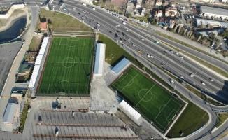 Yenikapı Futbol Sahaları Sporun Hizmetinde