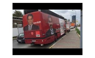 """Adalet Otobüsü""""ne Gece Yarısı Polis Müdahalesi"""