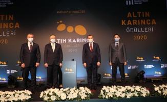 'Altın Karınca Ödülleri'nin ikisi Zeytinburnu Belediyesi'ne…