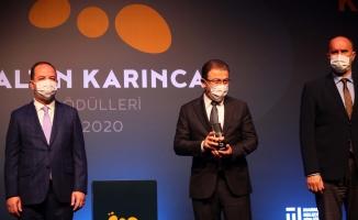 'Bağımsızlık Köyü'ne Altın Karınca Ödülü