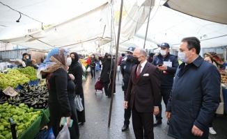 Bayrampaşa'da Pazar Tezgahları HES Kodu İle Açılıyor