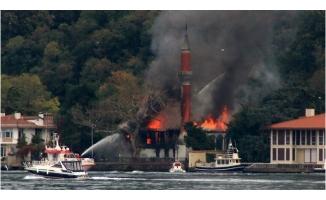 Vaniköy Camisi Yangını Elektrik Tesisatından Çıktı