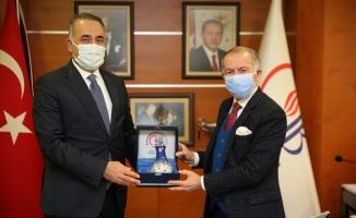 Başkan Dursun'dan Başkan Aydıner'e Ziyaret