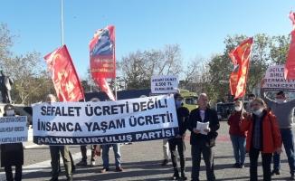 Kadıköy'de Asgari Ücret ve Kadın Cinayetleri Protesto Edildi!