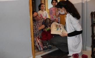 AKDEM Pandemi Sürecinde de Engelli Öğrencilerin Yanında