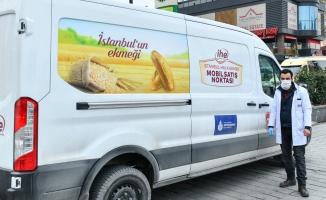 Esenyurt'ta Hizmet Veren Mobil Ekmek Büfesi 3'e Yükseldi