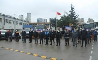 Kartal Belediyesi Beklenen Kar Yağışı Öncesi Teyakkuza Geçti