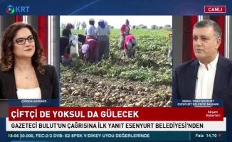 KRT TV'DE Konuşan Başkan Bozkurt, Esenyurtlulara Yeni Müjdeler Verdi