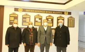 Zeytinburnu Malatyalılar Derneği'nden Başkan Aydın'a Taziye Ziyareti