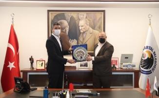 Ardino Belediye Başkanı İzzet Şaban'dan Başkan Gökhan Yüksel'e Ziyaret