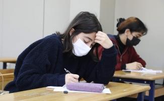 Eyüpsultan'da Yüz Yüze Deneme Sınavları Yeniden Başladı