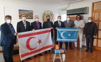 Irak Türklerinden KKTC Antalya Başkonsolosluğu'na Ziyaret