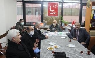Malatyalılar'dan Dr Mikail Kabak'a Taziye Ziyareti