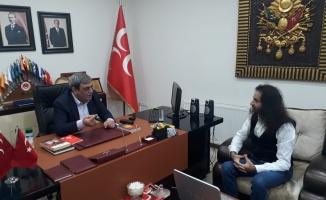 MHP'li Yağmur : MHP Demek Türkiye'nin Geleceği Demektir !