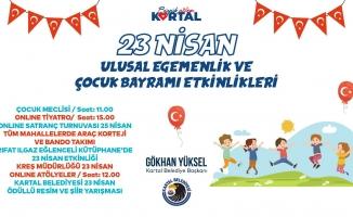 """Kartal Belediyesi'nden """"23 Nisan""""ın Ruhuna Yakışır Kutlama"""
