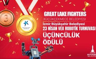 Küçükçekmece Bilgi Evleri Robotik Takımı, Ödüle Doymuyor