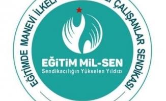 Eğitim Mil-Sen İstanbul İl Başkanlığından İsrail'e Kınama