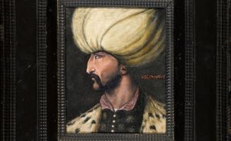 Rekor Fiyata  Satılan Kanuni Sultan Süleyman Portresi İBB' Ye Bağışlandı