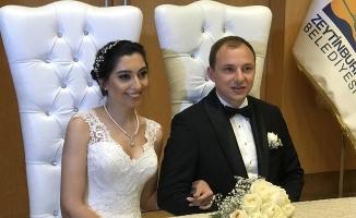 Semen Şener, Cihat Laleşahin ile Hayatını Birleştirdi