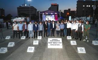 Srebrenitsa şehitleri Bağcılar'da anıldı