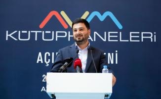 Türkiye'nin 7'nci AVM Kütühanesi Kağıthane'de Açıldı