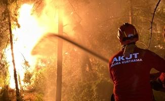 AKUT, Yangında İnsanları Ve Hayvanları Kurtarıyor