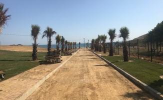 Halk plajı, Eyüpsultanlılar için hazırlanıyor