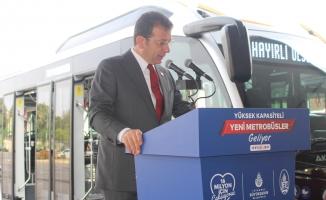 300 metrobüs alımına onay bekleyen İmamoğlu:İstanbulluyu mağdur ederseniz, İstanbullu sizi tanımaz