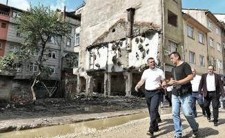 Başkan Bozkurt'tan Sel Bölgesine Dayanışma Ziyareti