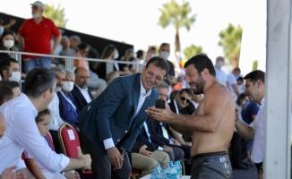 """İMAMOĞLU ER MEYDANINDA KONUŞTU: """"Bu Alanı Güreş Sporunun Canlandığı Bir Meydan Yapacağız"""""""