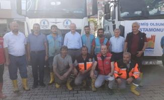 Kastamonu ve Sinop Yardım Ekipleri Eve Döndü