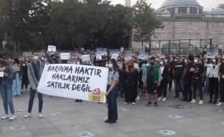 Öğrenciler Beşiktaş Meydanı'ndan haykırdı: Saray değil yurt istiyoruz